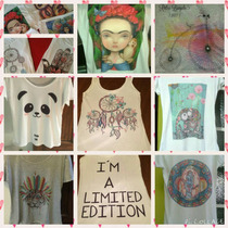 Remeras Estampadas Sublimadas De Mujer Imperdible! Pack X100