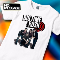 Remera Unisex Estampada Big Time Rush Música Rock No Message