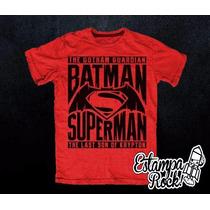 Remeras Batman V Superman Dawn Of Justice - Exclusivas!