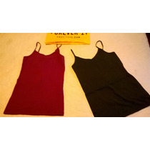 Musculosa Basica Tiritas Forever 21 Talle Small
