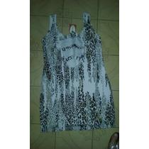 Vestido De Modal Animal Print