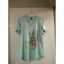 Remeras Modal Verde T S A 4xl $ 290