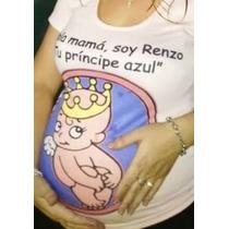 Remera Embarazada Bebe Futura Mama Sublimada En Chaco