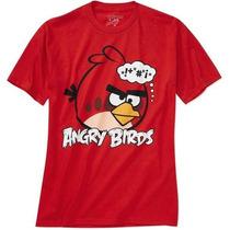 Remeras Angry Birds Originales Talle L Xl Importadas Nuevas!