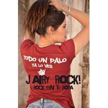Remeras Jairy Rock!