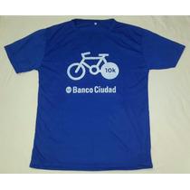 Remera Deportiva Banco Ciudad Bicicleteada 10km Talle S