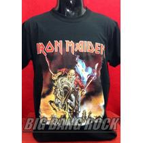 Remera Iron Maiden Talle L - Large ( 52 Cm. X 72 Cm. )