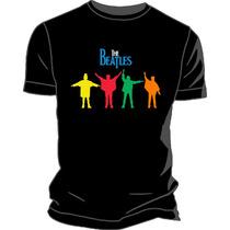 Remera Estampada Ploteada Sublimada The Beatles