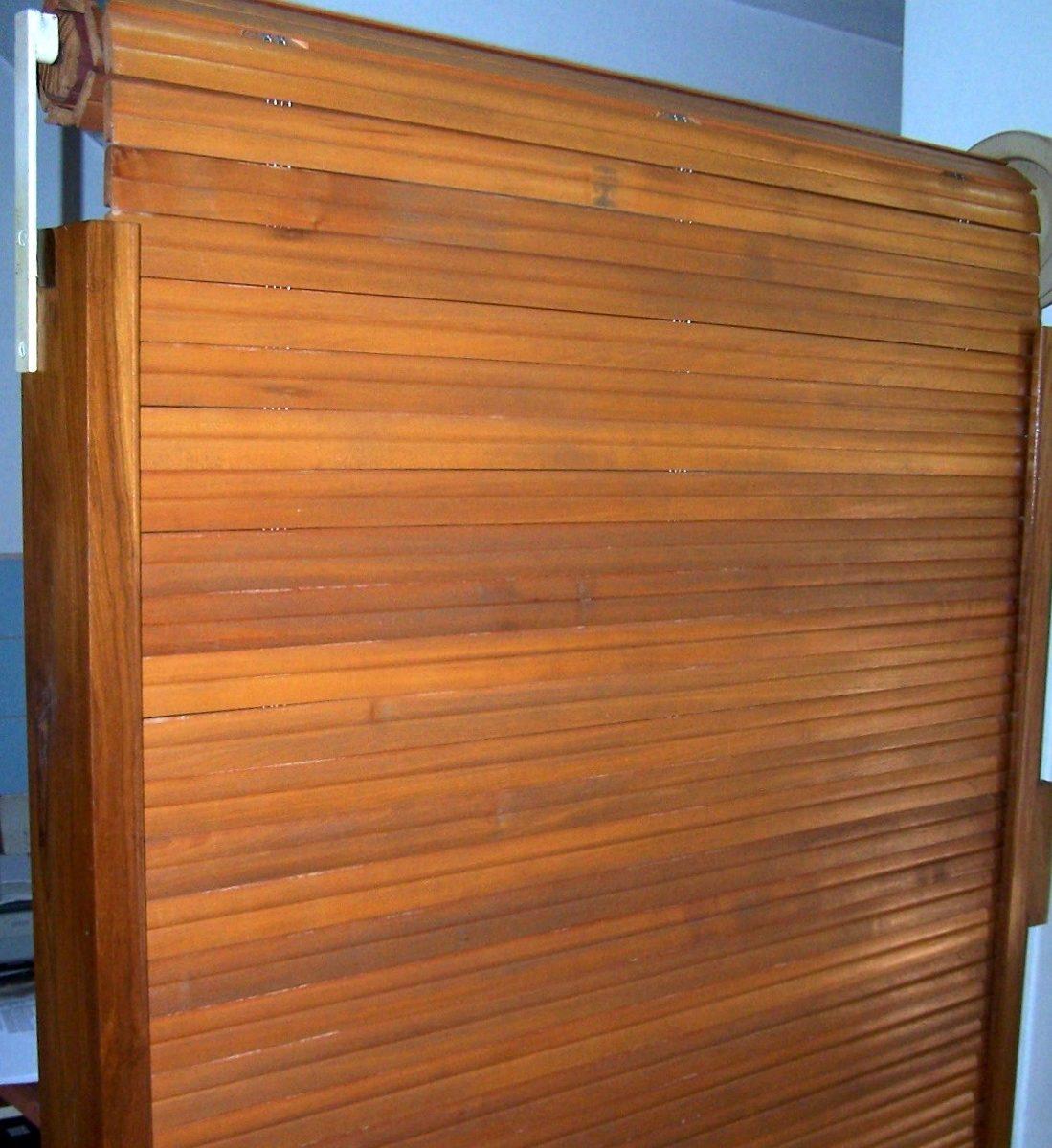Reparacion de persianas y cortinas de enrollar de madera - Persiana enrollable madera ...