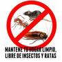 Fumigacion Profesional - Ratas, Insectos - Garantia