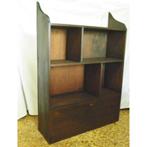 Antigua Repisa Biblioteca Mueble C/ Secreter Envíos Pt