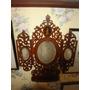 Repisa Porta Sobres Con Espejo Y Marqueteria Cca 1900 Itali