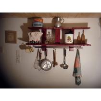 Reciclada Estanteria De Cocina