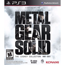 Metal Gear Solid The Legacy Collection Ps3 Fisico Oferta