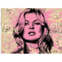 Cuadros Modernos Mr Brainwash Kate Moss Tela Canvas Pop Art