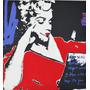 Marilyn Monroe Serigrafía Sobre Tela En Bastidor 57x61cm