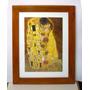 Cuadro De Gustav Klimt El Beso