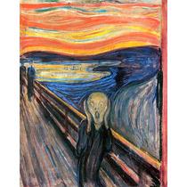 Lamina - El Grito (1983) - Edvard Munch - 50 X 60 Cm.