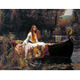 Lamina - La Dama De Shalott - J. W. Waterhouse - 60 X 50 Cm.