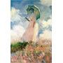 Cuadros Claude Monet En Tela Canvas Con Bastidor 50x60