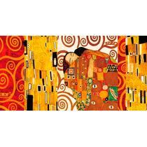 El Abrazo - Lienzo / Cuadro Sobre Bastidor - Gustav Klimt