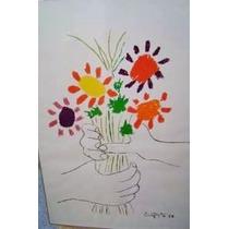 Pablo Picasso - Dibujo Del 21 De Abril De 1958 - 88 X 58 Cm