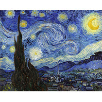Lamina - La Noche Estrellada - Van Gogh - 70 X 60 Cm.