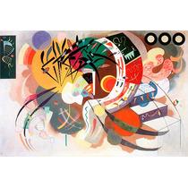 Lamina - Curva Dominante - W. Kandinsky - 70 X 50 Cm.