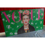 Cuadros Frida Kahlo En Tela Canvas Lienzo Algodon Bastidor
