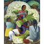 Lamina - Vendedora De Flores - Diego Rivera - 60 X 70 Cm.
