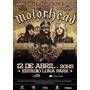 Dvd Motorhead Estadio Luna Park Bs As Argentina 2011