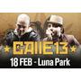 Dvd Calle 13 En Vivo Luna Park Bs As Argentina 2011