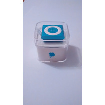 Ipod Shuffle 2gb Con Caja Y Accesorios-turquesa