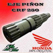Eje De Piñon Honda Crf 250 Original 04/06 En Fas Motos