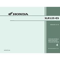 Honda Xlr125 Cat.taller/despiecemotor/electricidad Completo
