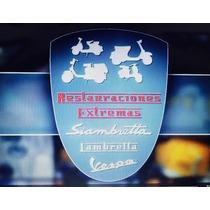Siambrettas Vespa Lambretta Restauraciones 100%originales