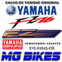 Calco Tanque Izquierda Yamaha Fz 16 2012 Original Mg Bikes