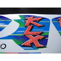 Calcos Kawasaki Klx 650- 250 Kit Completo Moto Verde
