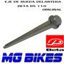 Eje Rueda Delantera Beta Bs 110 Original Unicamente Mg Bikes