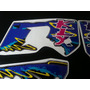 Calcos Kawasaki Klx 650 Kit Completo Moto Negra