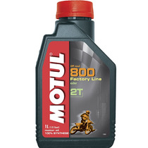Aceite Moto Cuatri Motul 800 100% Sintetico Competicion