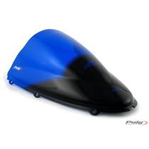 Burbuja Parabrisa Doble Para Moto Kawasaki Zx14 De Carbono