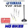 Valvula Escape Yamaha Yzf 450 Original Solo Mg Bikes