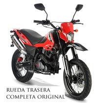 Rueda Trasera Zanella Ztt 200 Motard Franco Motos En Moreno