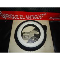 Cubierta + Camara + 2 Bandas Blancas Rodado 10 Para Vespa