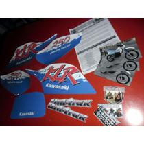 Replicas Calcos Graficas- Kawasaki Klr 250