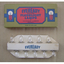 Caja De 10 Foquitos Lamparitas Eveready Nº 1405 De 3,6v
