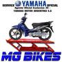 Service Yamaha New Crypton Oficial Yamalube Solo En Mg Bikes