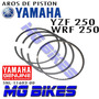Aros De Piston Yamaha Yzf 250 Wrf Standar Original Mg Bikes