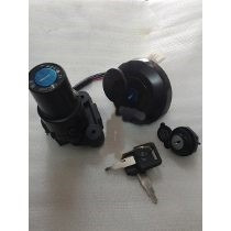 Llave Contacto Yamaha 125 Ybr Brasilera / Xtz Kit Okinoi Con